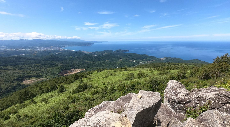 北海道 塩谷丸山 登山 頂上