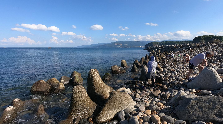 北海道 小樽市 海