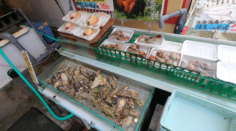 北海道小樽市 海鮮