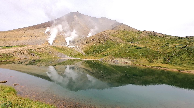 大雪山 旭岳 登山 姿見の池