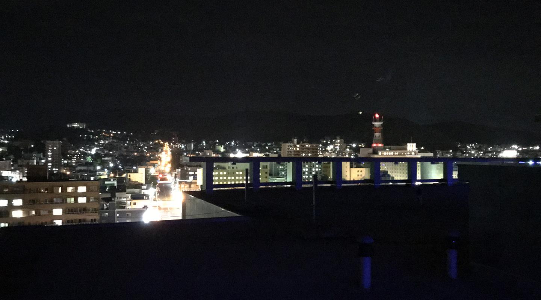 北海道小樽市 夜景