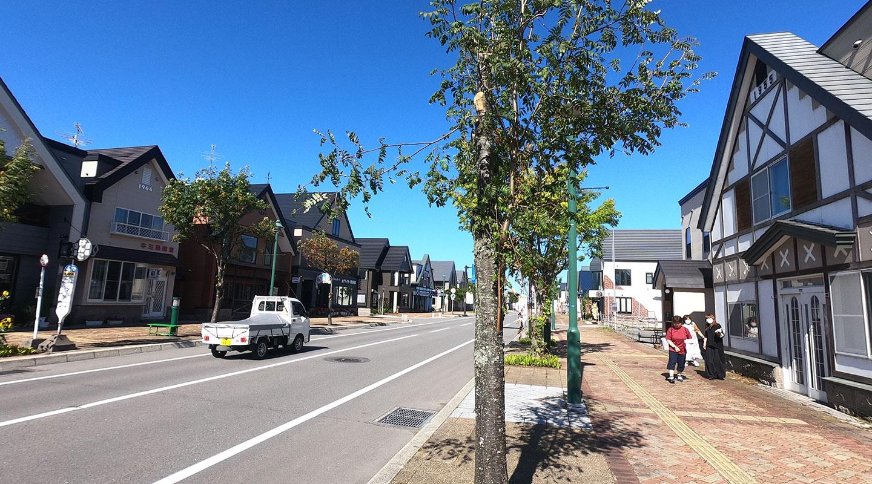 北海道 美瑛町 商店街