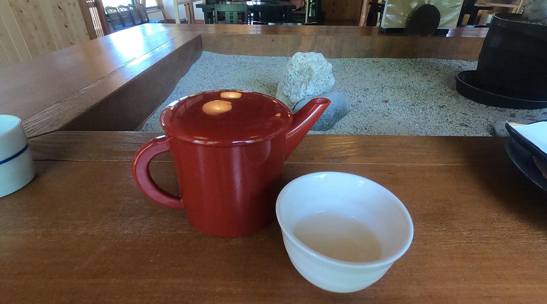 安曇野 蕎麦湯