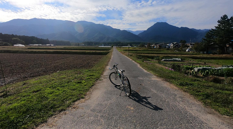 安曇野 サイクリング