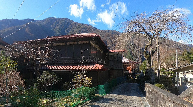 早川町 赤沢宿