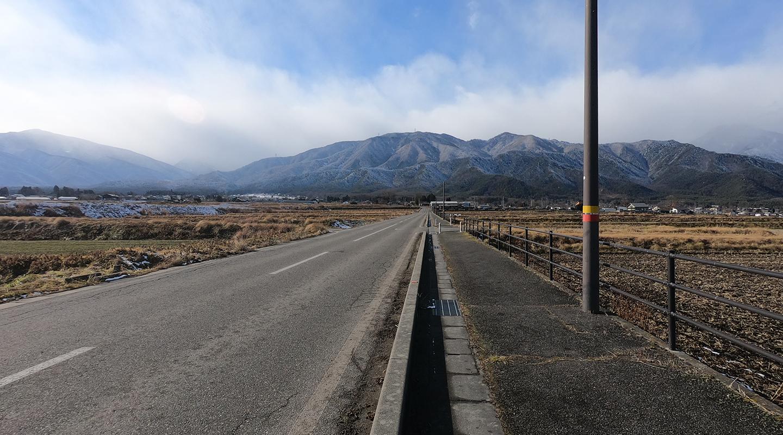 長野県 安曇野 冬 移住体験
